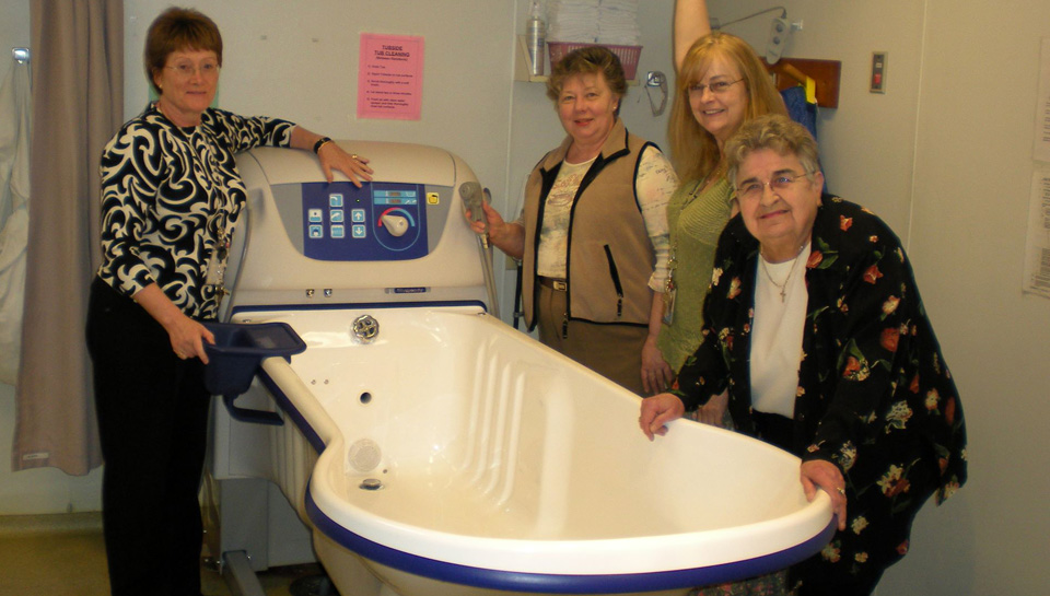 Eagle Ridge Hospital Auxiliary New Bathtub
